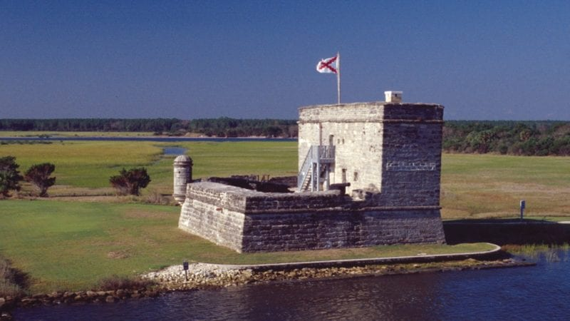 Fort Matanzas National Monument is one of the free things to do in St. Augustine