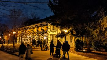 Greenfield Village Holiday Nights Main Street
