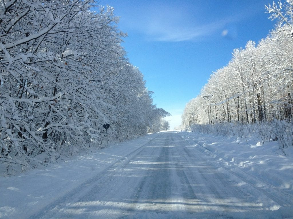 Winter road trips can be scary. Follow these tips to be safe.