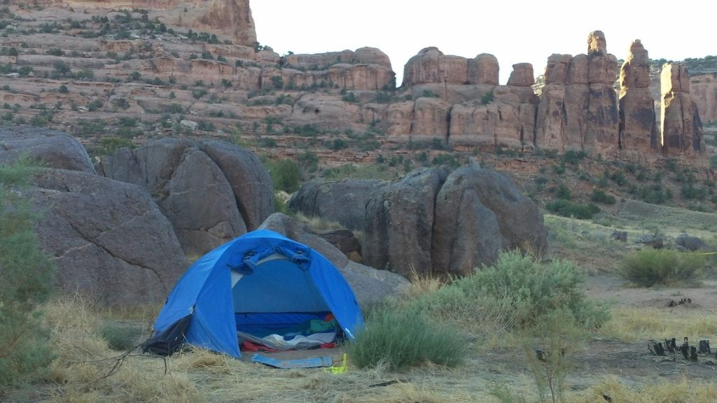 stress-free camping is possible