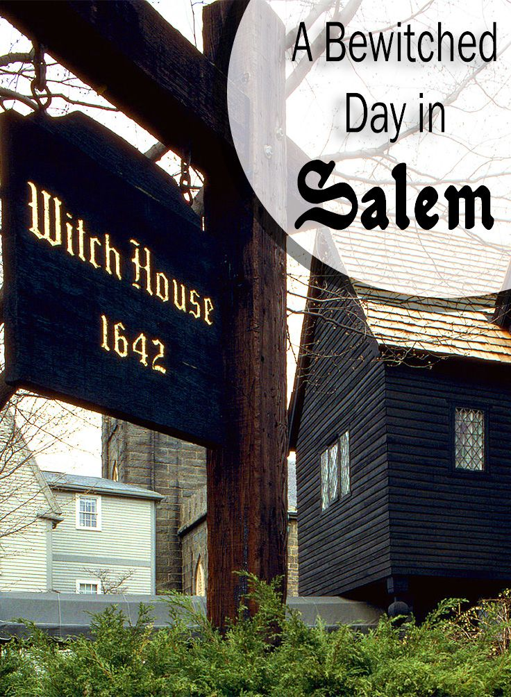 A Bewitching Day in Salem, MA