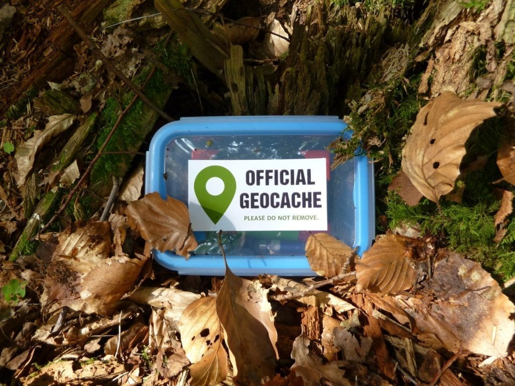 the whole family will love geocaching