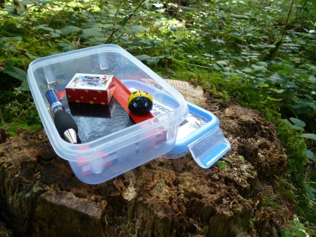 explore the outdoors with geocaching!