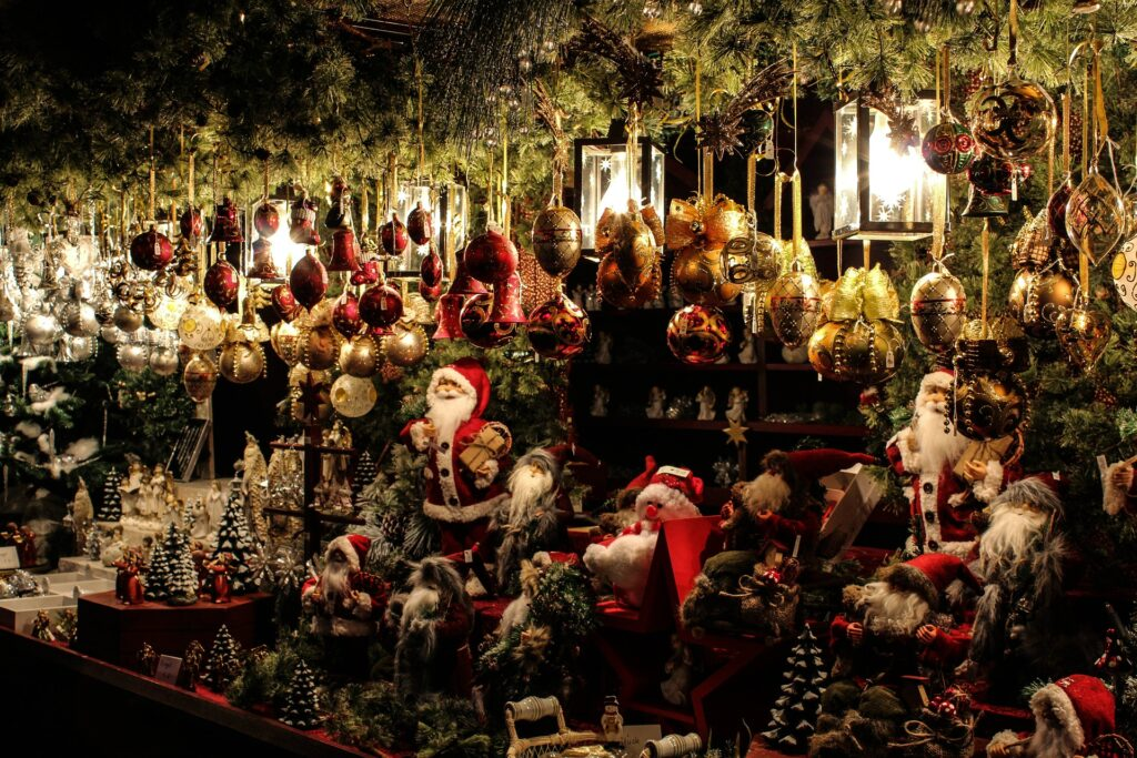Christmas market products