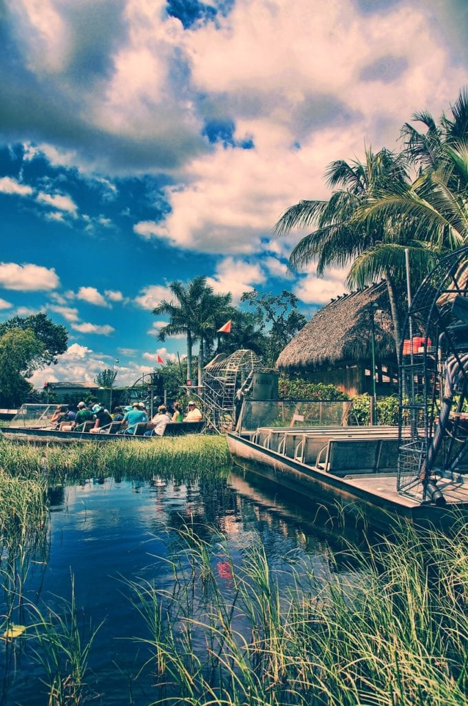 The Florida Everglades is a great spot for families