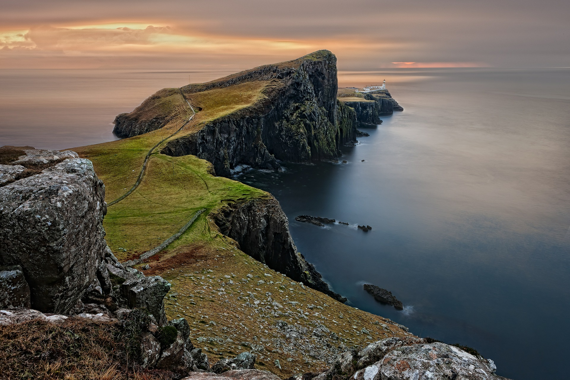 Scotland, one of the most romantic spots in the UK>