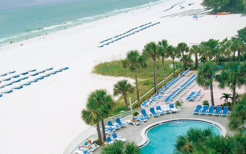 St. pete beach is just outside your TradeWinds hotel