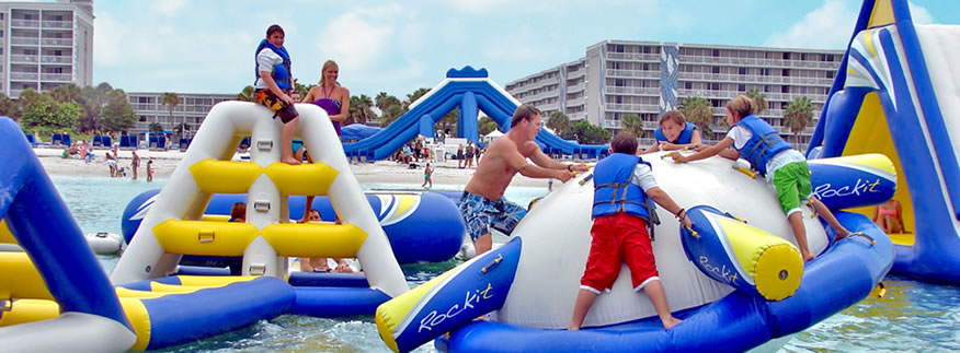 There are tons of water activities at TradeWinds St. Pete