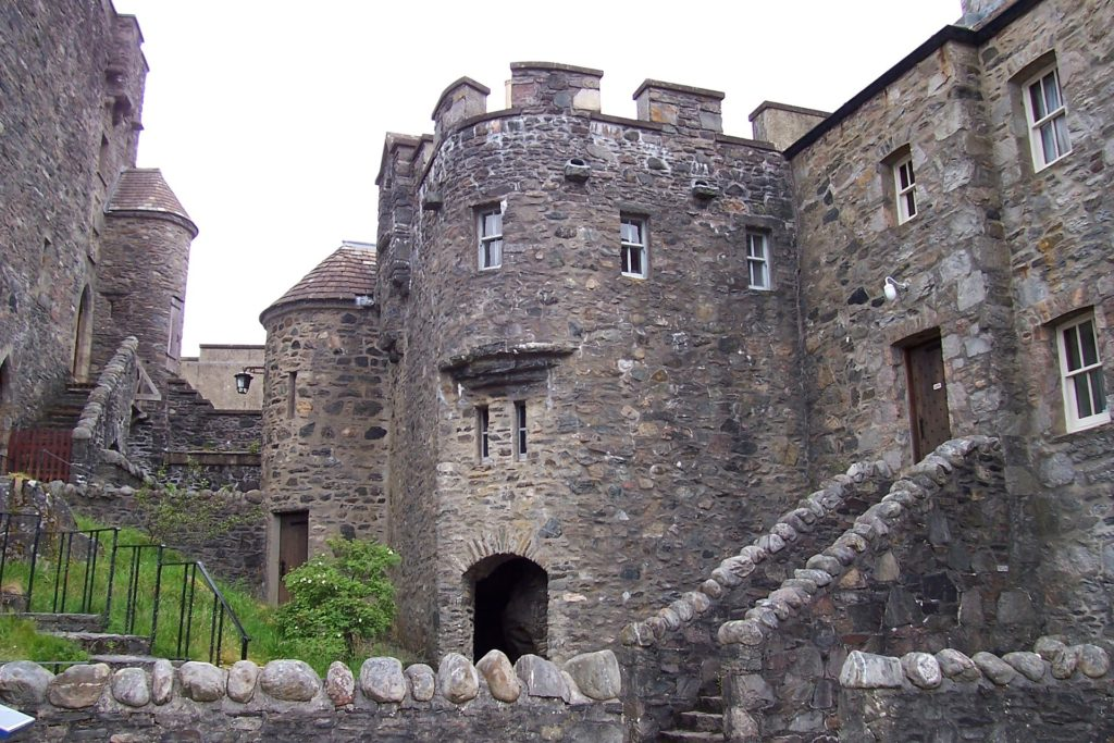 Traveling with adult children to see the castles of Scotland.