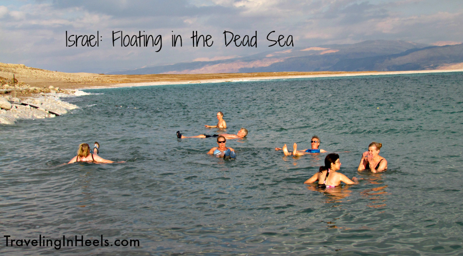 Floating Dead Sea Israel