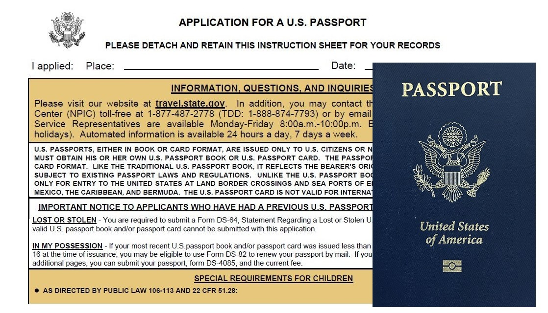 Tips for Submitting Your First Passport Application