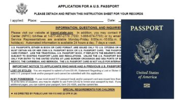 You can fill out a passport application directly online to make the process faster and easier. Photo credit: Deb Steenhagen / TravelingMom with Daughters
