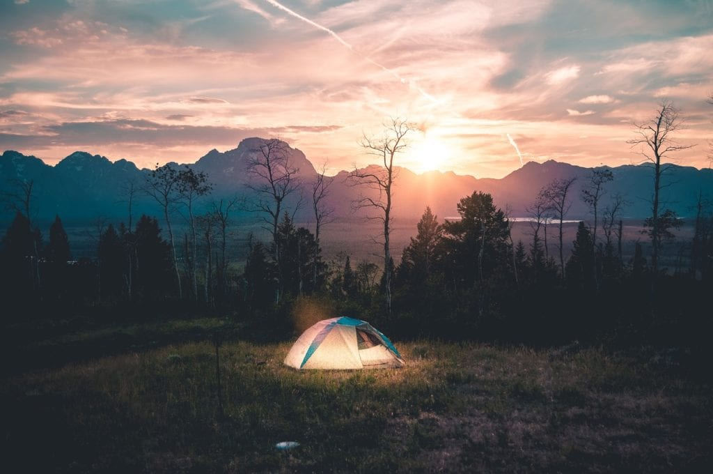 camping is a very cheap way to vacation!