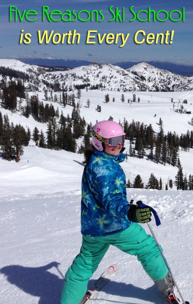 Five Reasons Ski School is Worth Every Cent