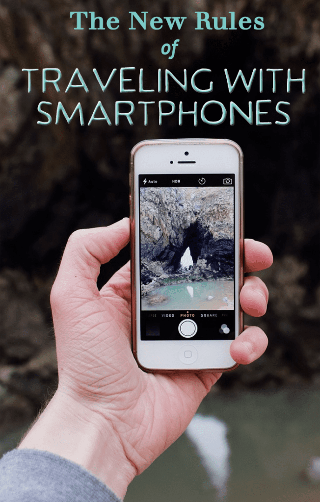 The new rules of traveling with smartphones.