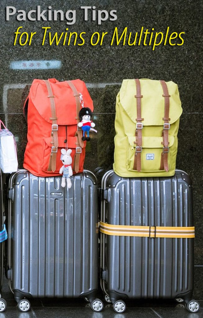 Packing Tips for Traveling with Twins or Multiples