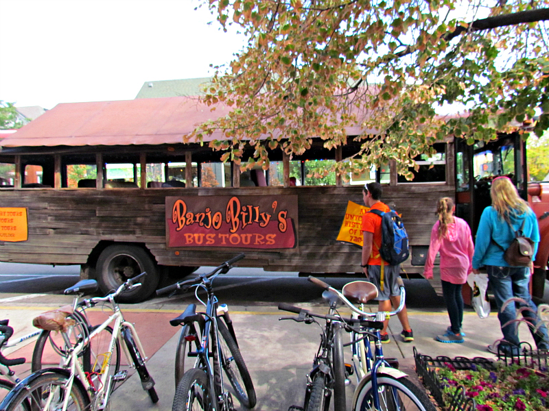 Banjo Billy Tours in Boulder, one of many scary tours in Haunted Colorado. Photo: Diana Rowe / Traveling Grandmom
