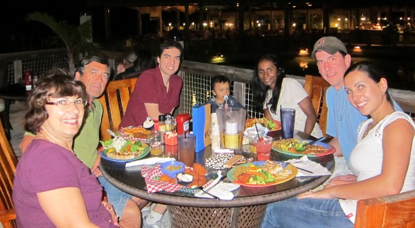 Anuja and family in Florida 3