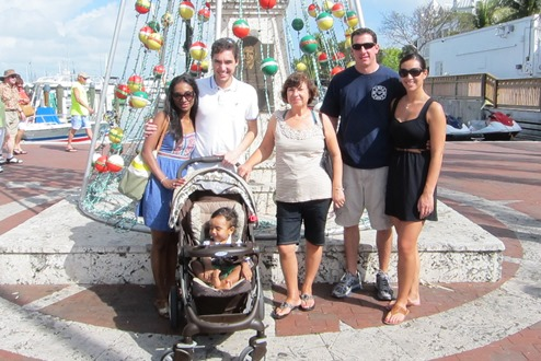 Anuja and family in Florida