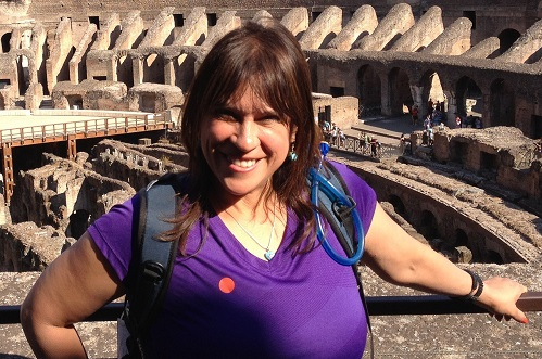 Adventure TravelingMom Fran Capo on her first trip to Italy.