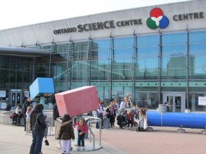 The Ontario Science Centre in Toronto.