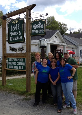 #5- West Dover Inn Fearless Five & owners