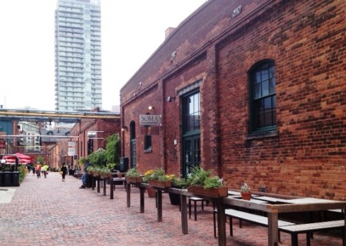 A Family-Friendly Visit to Toronto's Historic Distillery District
