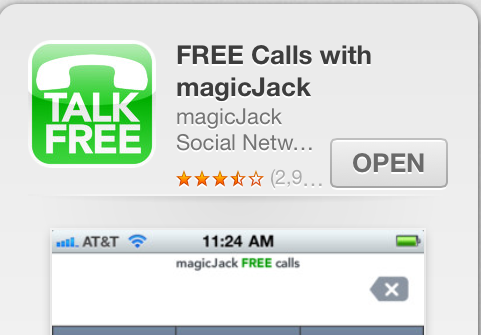 Free international calls with MagicJack
