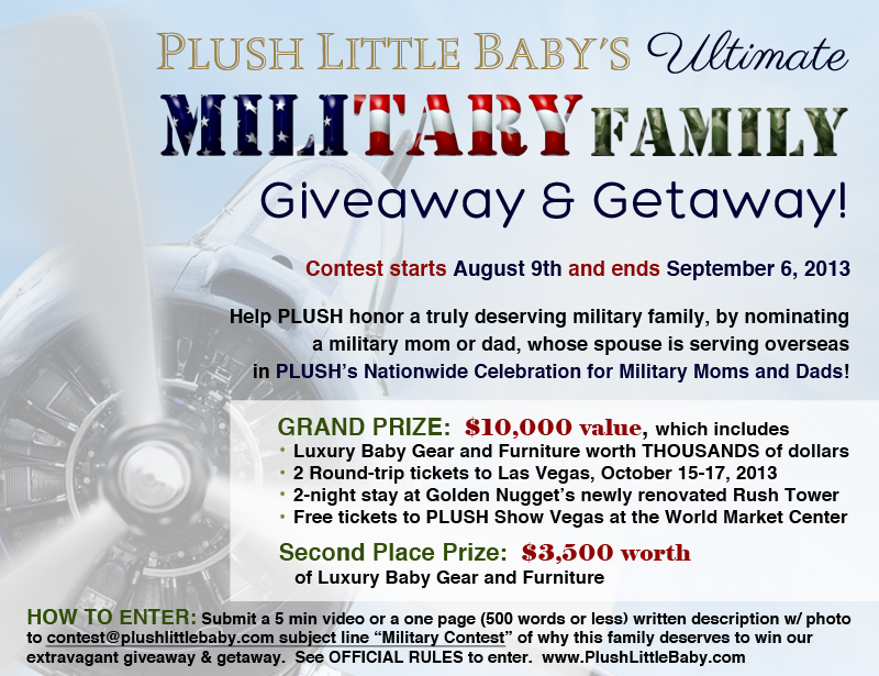 PLB's Ultimate Military Family Giveaway and Vegas Getaway