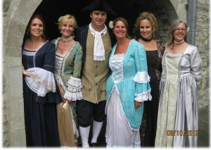 Quebec New France Festival costumes