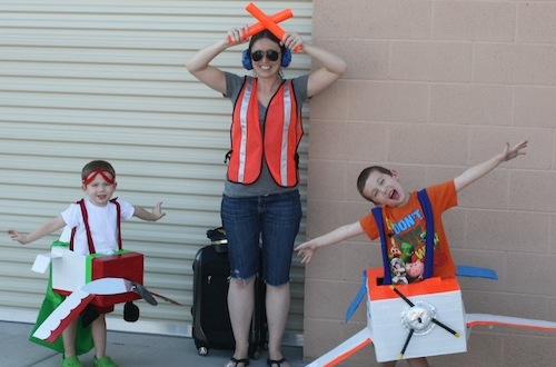 Creative Halloween costume ideas -- go for a travel theme!