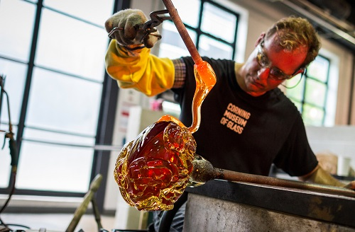 The Corning Museum of Glass is a Fun Family Travel Destination