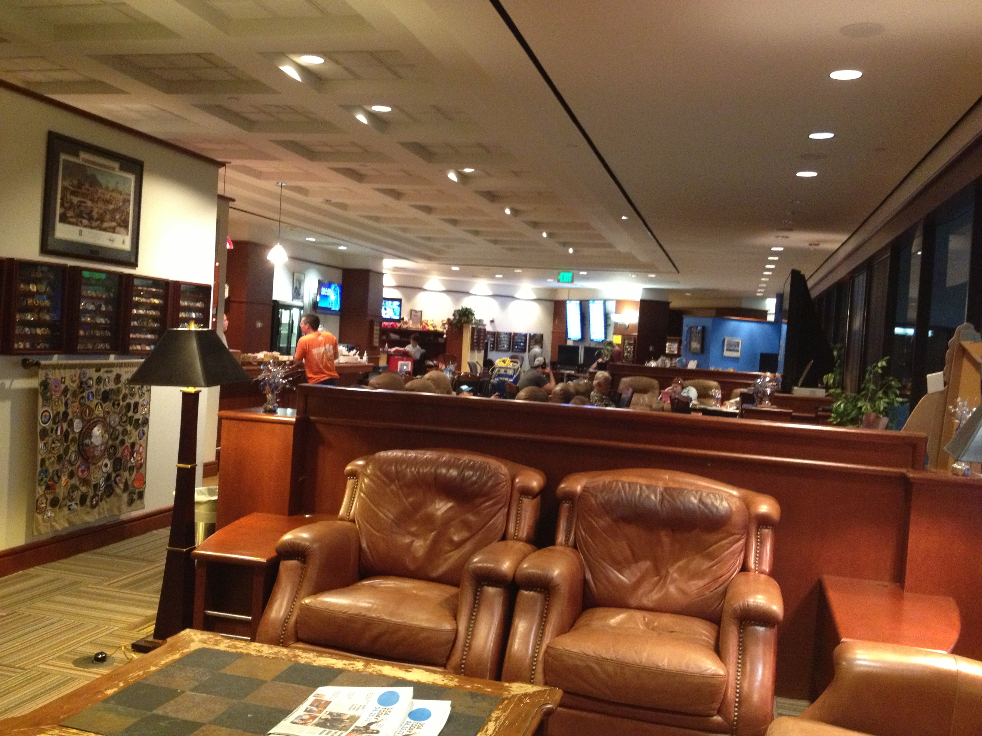 Denver Airport USO Lounge