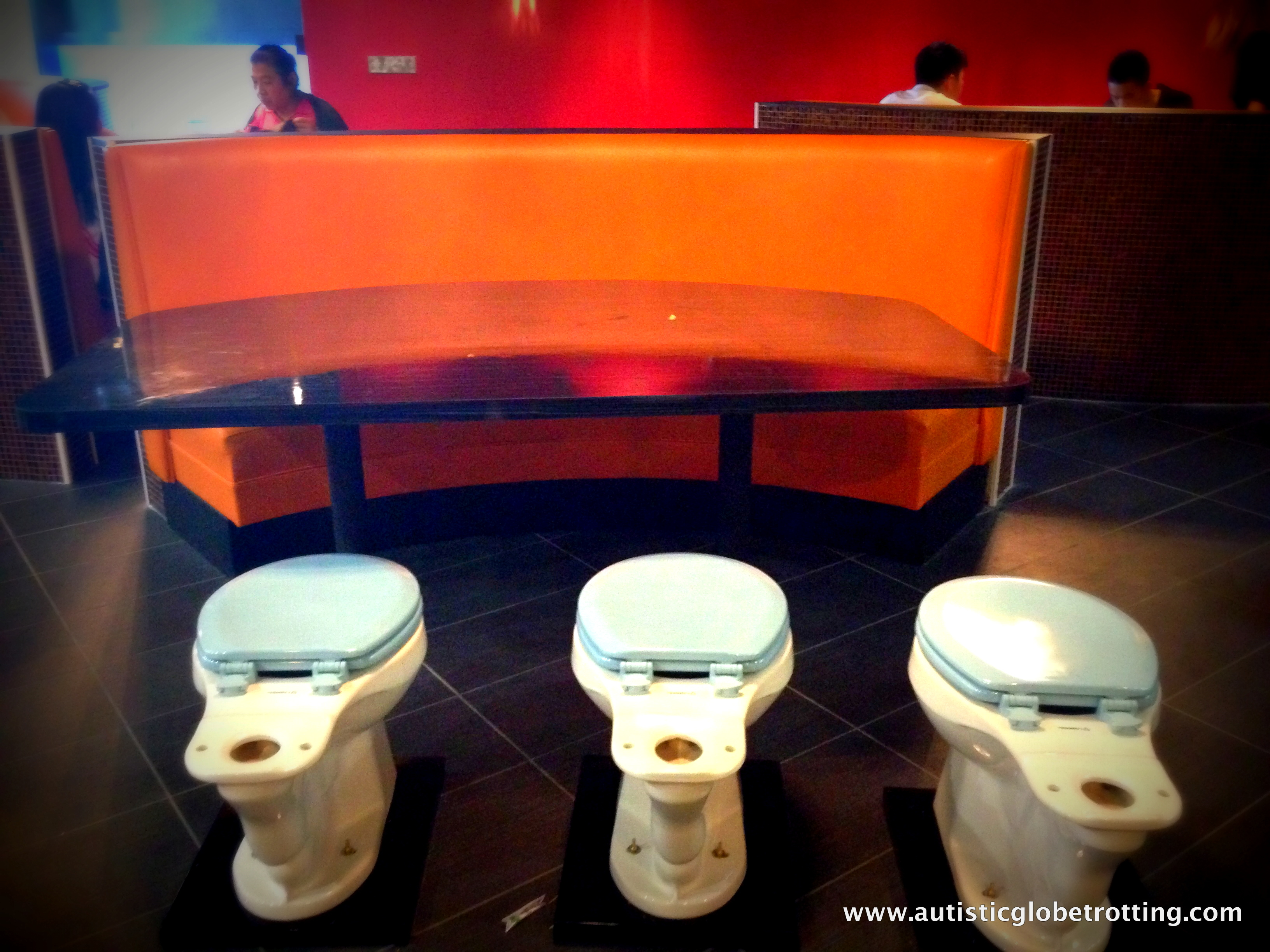 Dining on the Potty-L.A's Newest Restaurant Fad