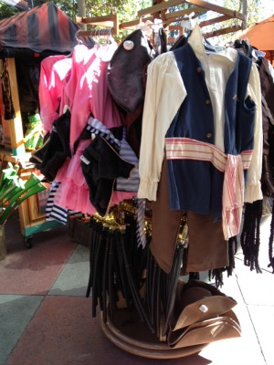 Pirate Costumes at Disneyland