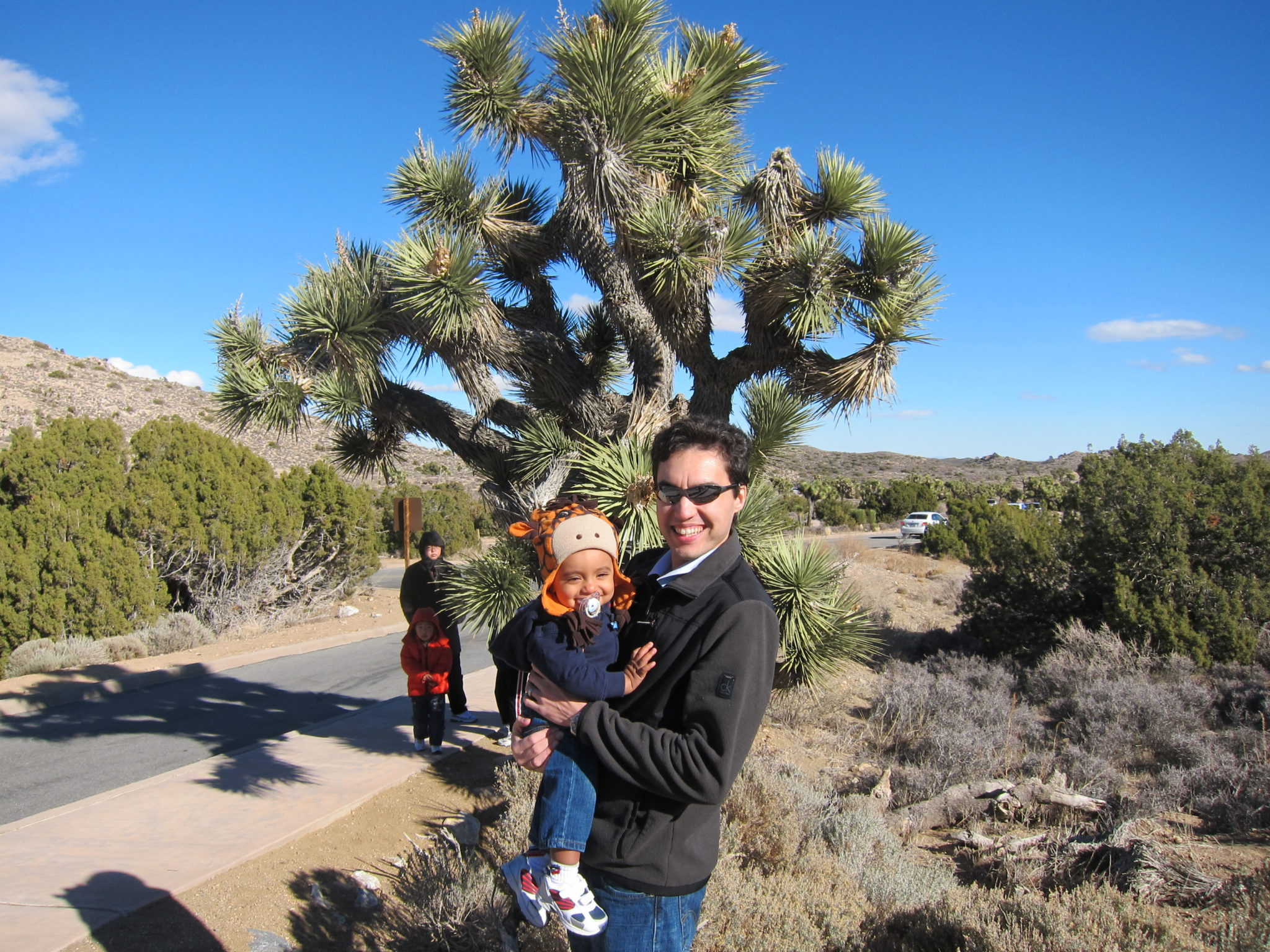 Joshua Tree National Park with my nine month old son Photo credit: Anuja De Silva/Cosmopolitan with Kids TravelingMom