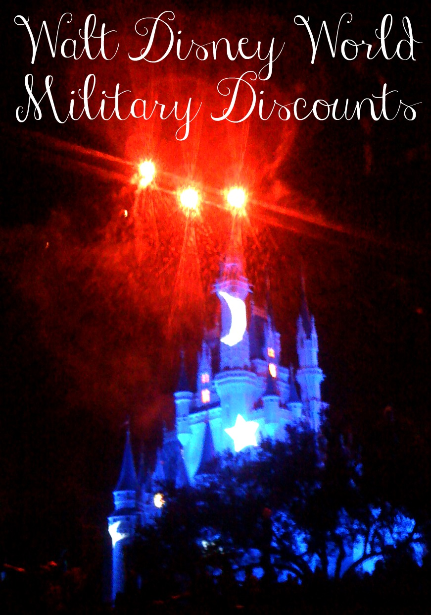Military Discounts at Disney World