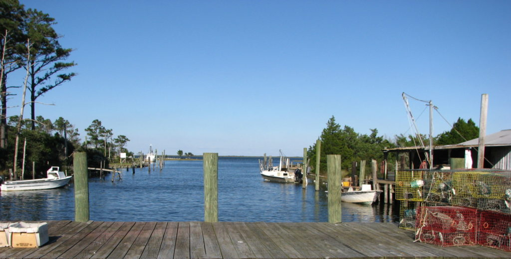 Fishing village Outer Banks