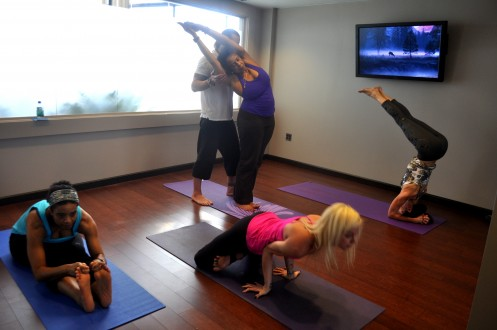 New Family-Friendly Yoga Room Opens in Chicago's O'Hare Airport
