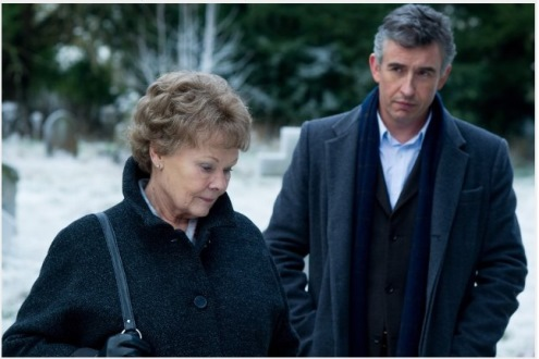 Judi Dench and Steve Coogan in Philomena, the movie