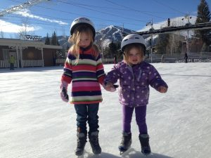 Ice Skating in Sun Valley