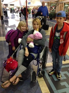 wheelchair assistance while flying