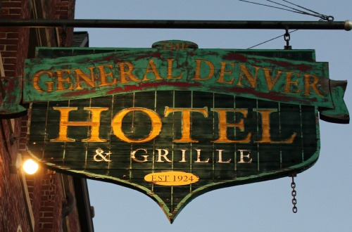 Historic General Denver Hotel in Wilmington Ohio