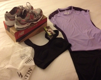 New Balance Westin Hotel stay in shape while traveling