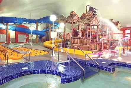 Indoor Fun at Timber Falls Water Park in Lake of the Ozarks, Missouri