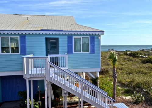 Family Cottages on Vilano Beach in St. Augustine, Florida