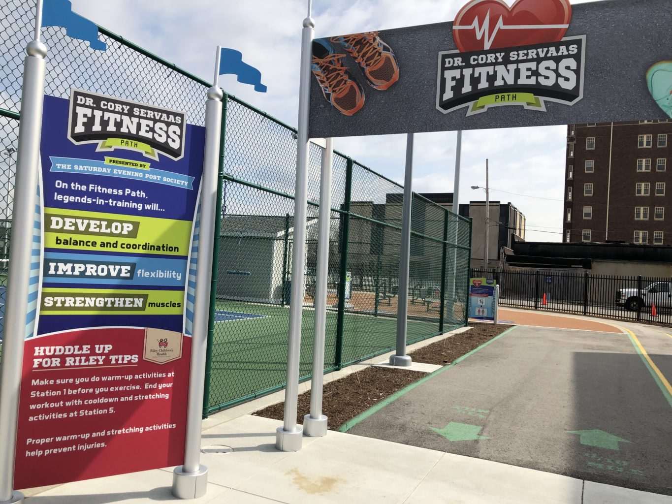 Children's Museum of Indianapolis - fitness trail