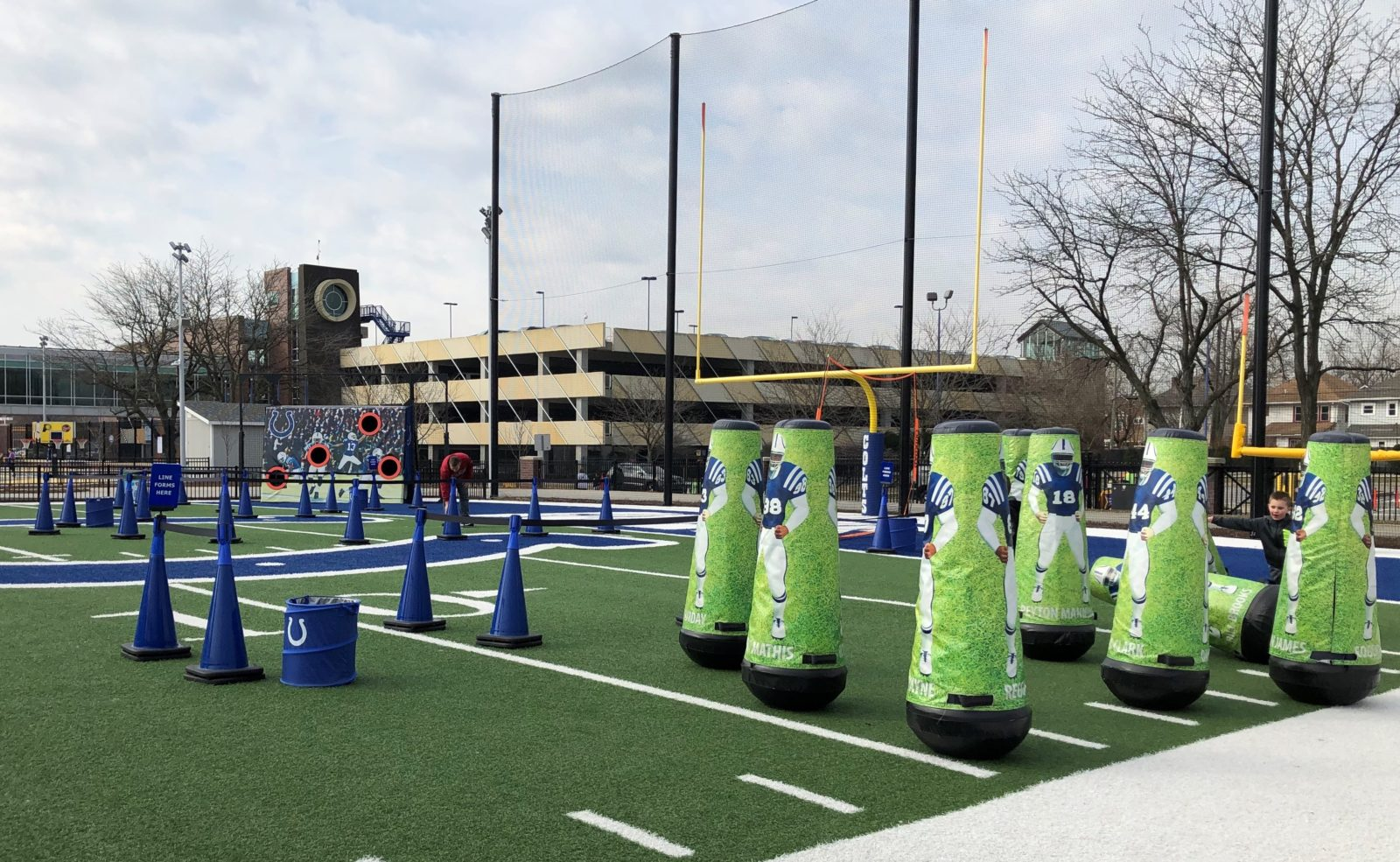 Children's Museum of Indianapolis - football