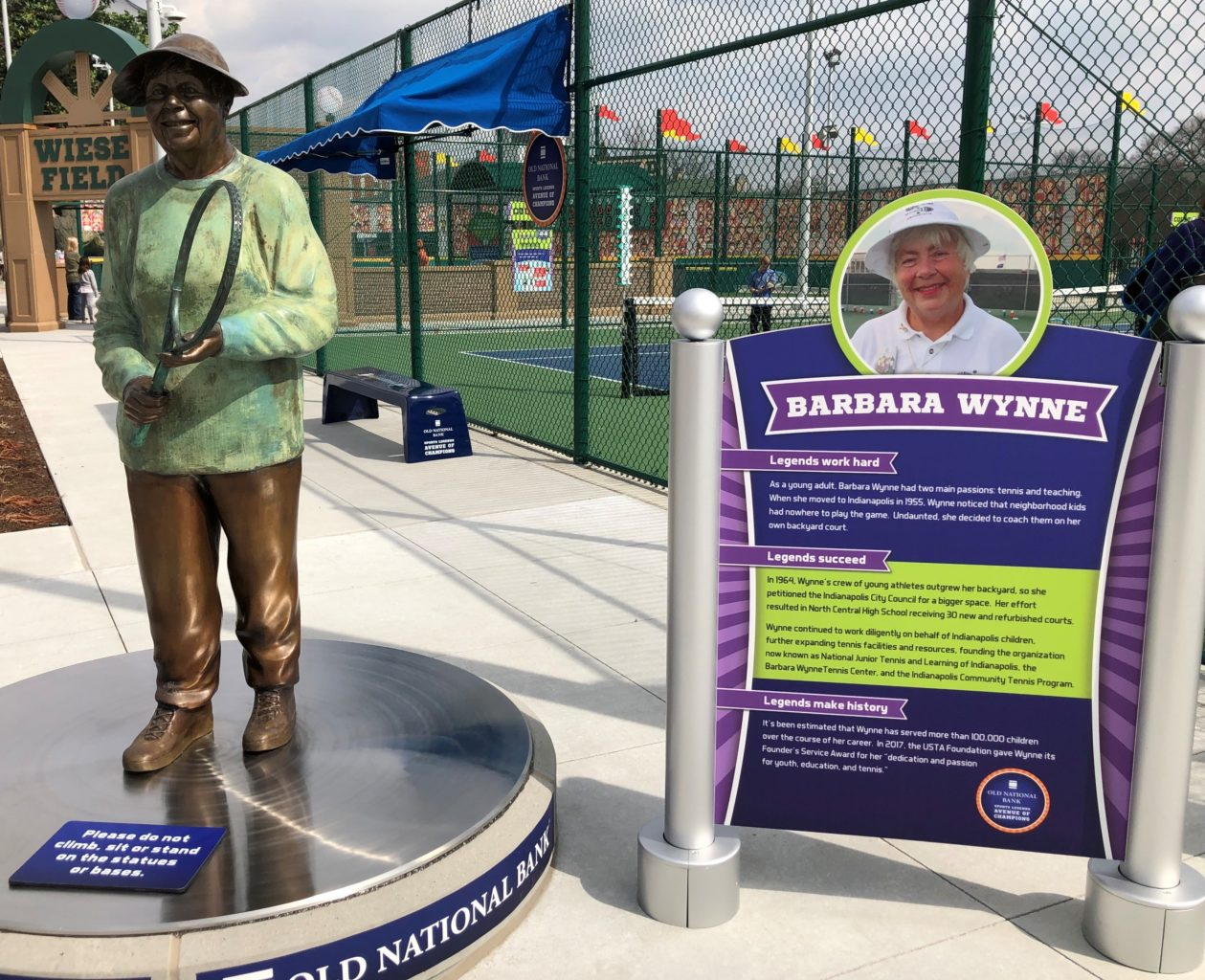 Children's Museum of Indianapolis - outdoor sports legends