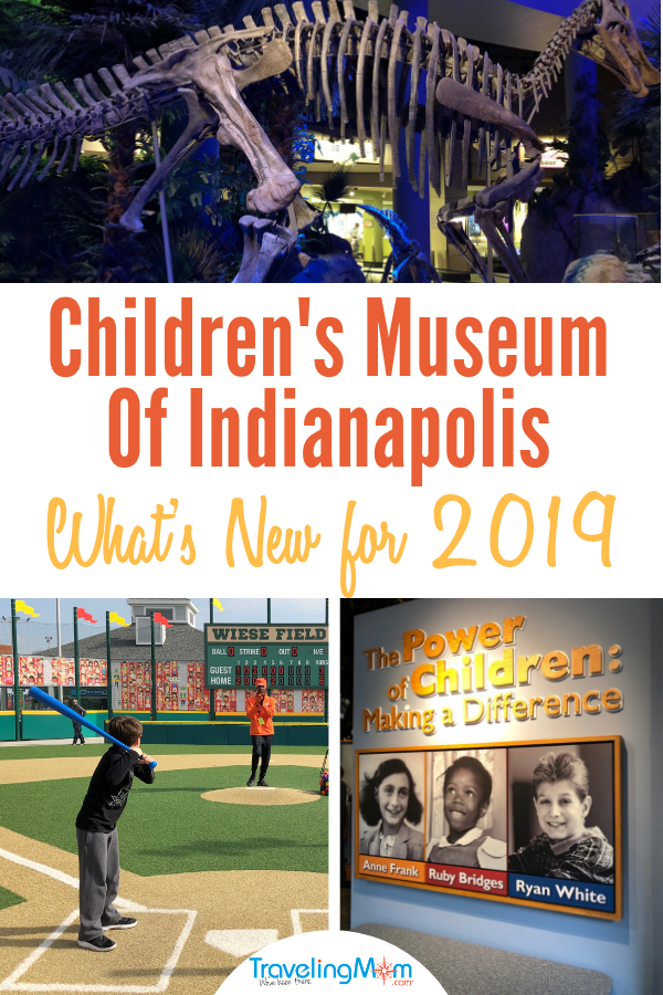 Find new outdoor space, intriguing exhibits aimed at older kids and fun for little ones at the Children's Museum of Indianapolis.